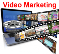 Video upload sharing sites for marketing