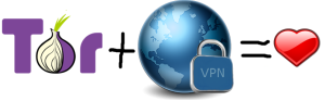 Onion Networks and VPN Anonymity