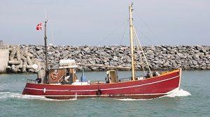 Sea Fishing Charter Boats in Hirtshals Denmark
